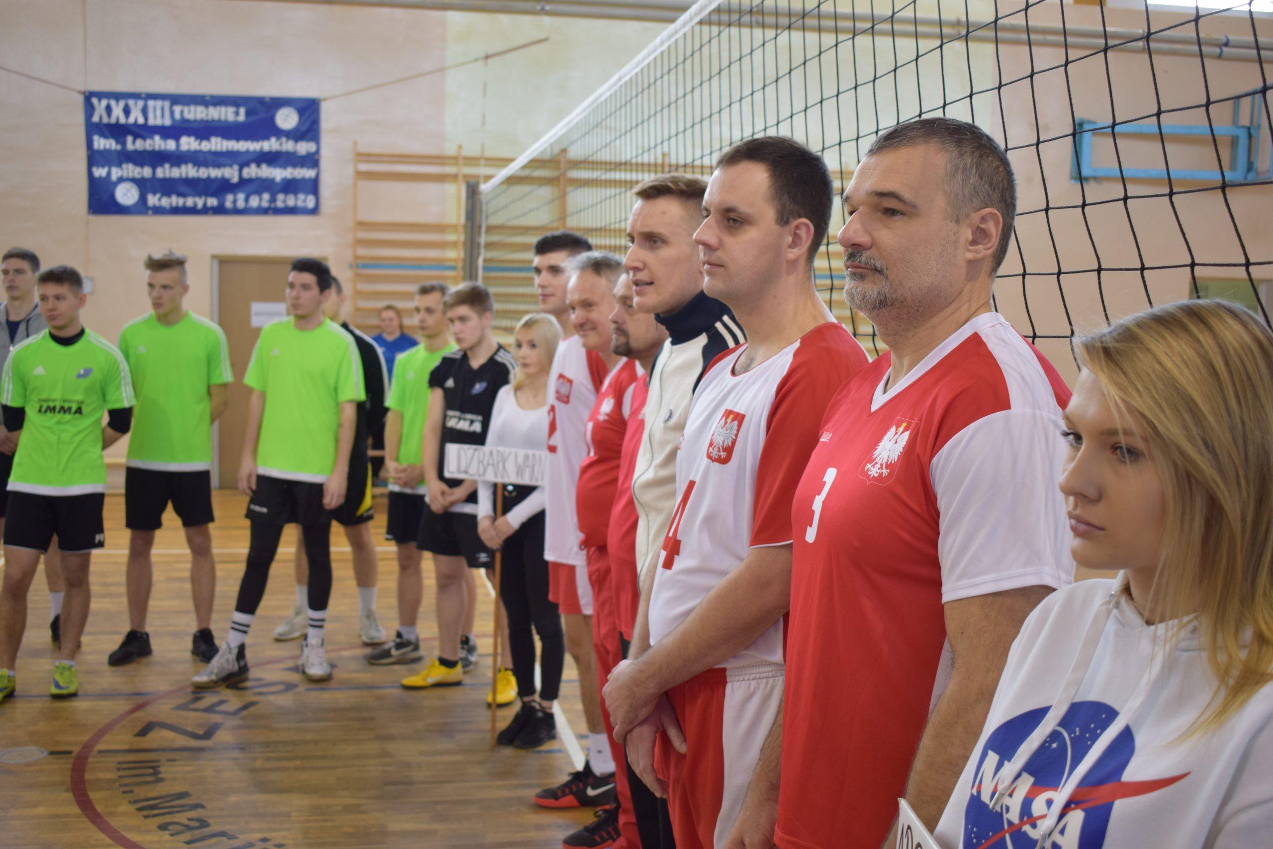 Turniej im. Lecha Skolimowskiego w piłkę siatkową chłopców