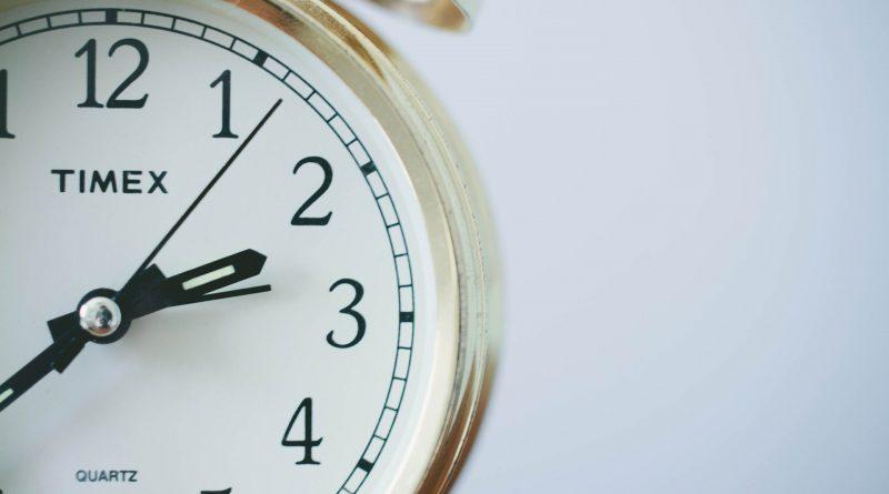 Godziny wejścia na egzamin maturalny - obrazek budzika