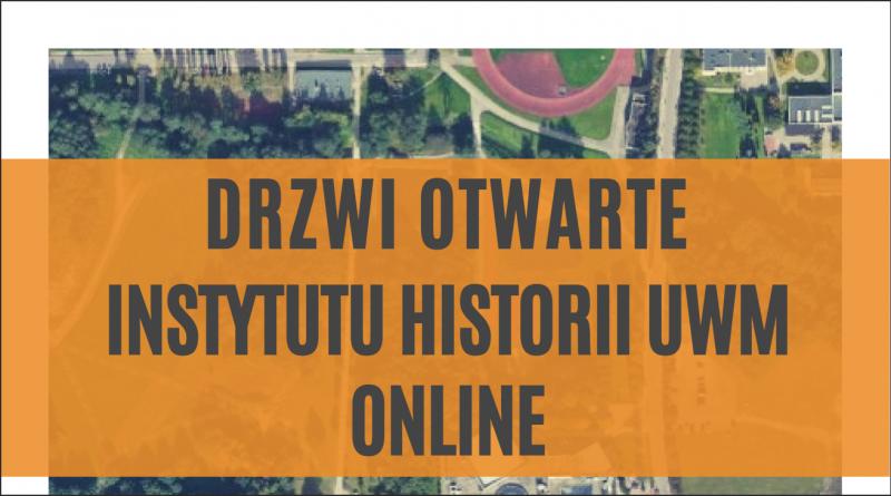 Drzwi otwarte Instytutu Historii UWM obrazek