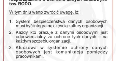 3 lata obowiązywania RODO w Polsce