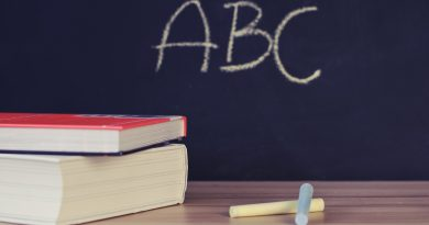 szkoła książki kreda tablica