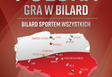 Polska gra w bilard - bilard sportem wszystkich - plakat